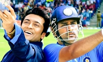 Suriya's lovely message honouring Dhoni and Raina as true achievers!
