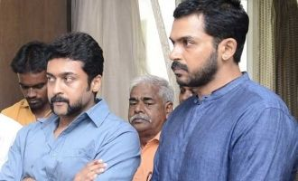 Suriya and Karthi donate big for Gaja Cyclone victims