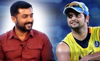 Suriya reveals his favourite CSK player to Raina
