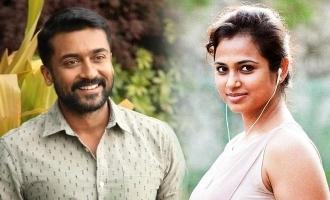 Suriya signs Ramya Pandian for new movie