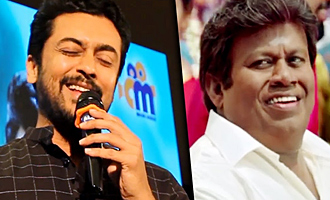 Vignesh Shivan asked Senthil to hit him with slippers : Surya Funny Speech