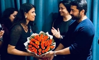 Suriya and Jyothika's lovely gift for this hit director!