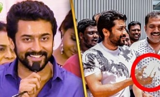 I Feel so Blessed : Suriya's Emotional Speech Thanking his Fans
