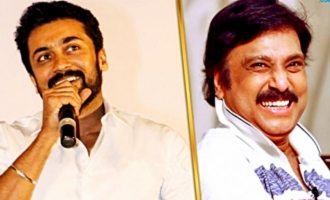 Suriya Imitates Karthik on Mr Chandramouli Audio Launch