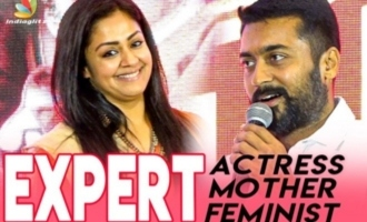 Surya & Jyothika speech at Jackpot Audio Launch