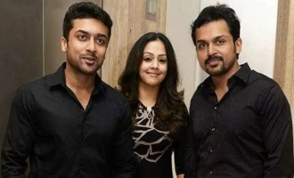 Suriya-Jyothika-Karthi give the first big donation for COVID 19 relief