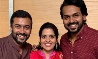 Brinda Sivakumar opens up about fierce fights with Suriya and Karthi - Exclusive Interview
