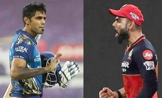 mumbai indians batsman suryakumar yadav on virat kohli sledging ipl 2020 match abu dhabi mi vs rcb