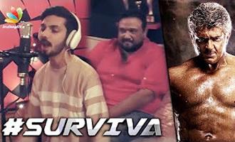 Vivegam - SURVIVA Song Teaser Review