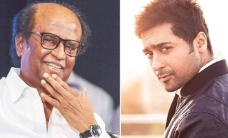 Superstar Rajinikanth lends support to Suriya and praises him