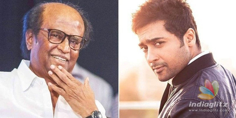 Superstar Rajinikanth lends support to Suriya