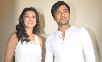Suriya and Kajal Aggarwal reunite?