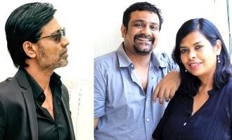 Vikram Vedha creators Pushkar-Gayathri joins with multi-talented S.J. Suryah