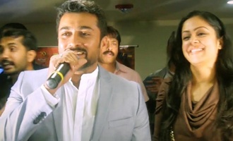 Surya and Jyothika at 24 Movie USA Premier Show