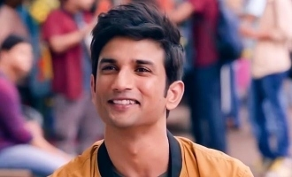 Sushant Singh Rajput's lovely video from last movie turns viral!