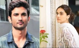 If Sushant was alive he would be in jail - Tapsee Pannu in support of Rhea Chakraborty