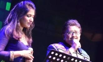 God Bless You : எஸ்பிபி தன்னிடம் பேசிய கடைசி உரையாடலை பகிர்ந்த பாடகி!