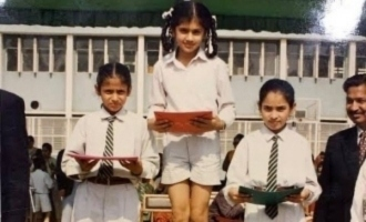 Can you guess who this top actress is from her school photo?