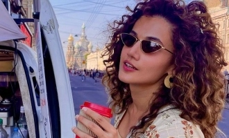 Taapsee Pannu's latest trip to the land of superlatives makes us miss vacation