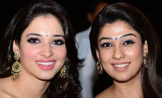 Nayanthara for the South and Tamannah for the North
