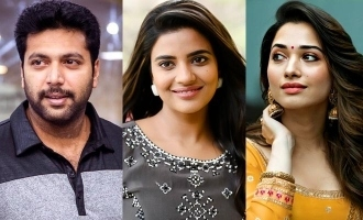 Jayam Ravi and Tamannaah to do it for Aishwarya Rajesh!