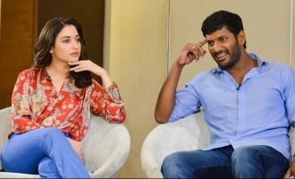 Vishal - Tamannaah's new movie launched