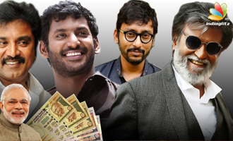 Tamil Actors Reaction to Rs 500, 1000 notes Banned in India