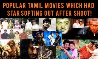 Popular Tamil movies which had stars opting out after shoot!