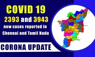 COVID 19 updates - 2393 and 3943 new cases reported in Chennai and Tamil Nadu