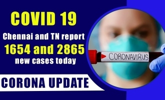 COVID 19 - Chennai and TN report 1654 and 2865 new cases today
