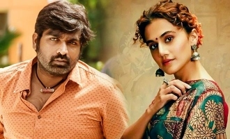 Taapsee Vijay Sethupathi movie popular veteran actress onboard