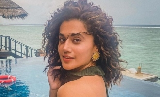 Tapsee Pannu shares about her COVID 19 test results after returning from Maldives