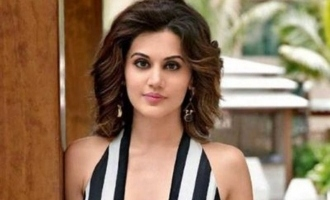 Tapsee Pannu in famous Tamil music composer's debut movie as director?