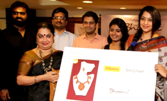 Celebrities at Inauguration Terrocota Jewellery in Odyssey at Adyar