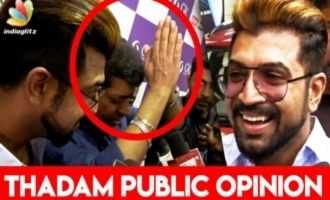 Handwork Pays off : Arun Vijay Emotional Speech at Thadam FDFS