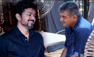 Unrivalled Tamil Actors trending by Thala Thalapathy fans Ajith Vijay Suriya Vikram Rajini Kamal
