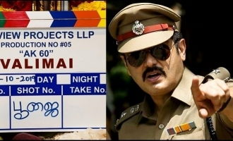 Thala Ajith's new plan for 'Valimai' shooting revealed?
