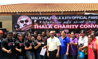 Thala Charity Convoy- Malaysian Thala Ajith Fan Club initiative
