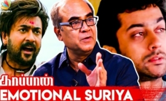 Suriya's Emotional Story at Kaappaan Sets | Thalaivasal Vijay Interview