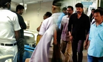 Vijay visits Thalapathy 63 injured crew member!
