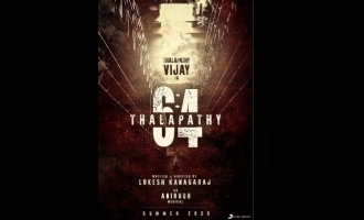 A major star in 'Thalapathy 64' replaced