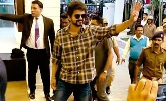 Vijay returns to Chennai leaving 'Thalapathy 64' team