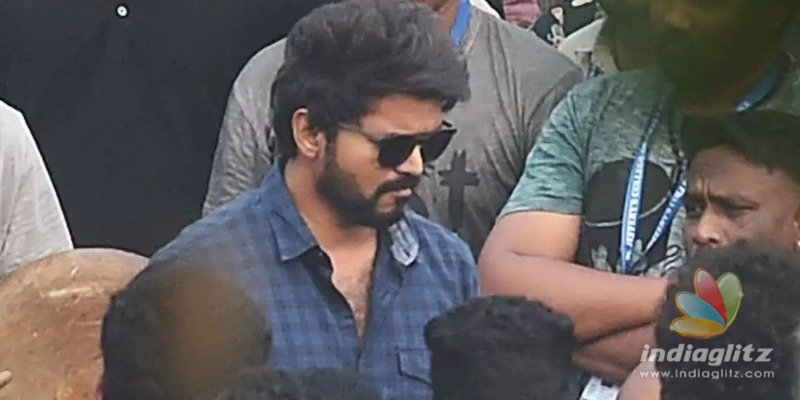 Vijays awesome Thalapathy 64 look and current shooting sequence revealed