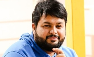 Thaman wants to hug this actor after lockdown!