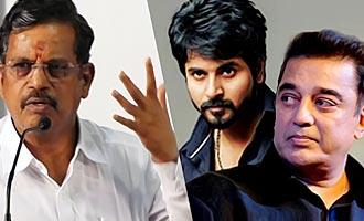 Financier Anbu Chezhiyan helped Kamal & Sivakarthikeyan Movies : Thanu speech