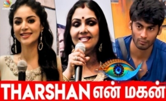 Actress adopts 'Bigg Boss 3' Tharshan - Sanam Shetty interview