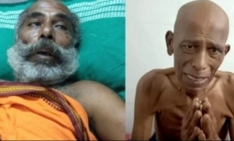 VVS fame comedy actor Thavasi in shocking condition after cancer