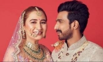 Vishnu Vishal posts his unseen wedding video on special occasion