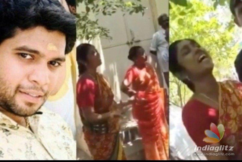 Shocking video of Pollachi Thirunavukkarasus mother