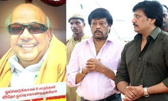 Actor Thiagarajan & Prashanth paid their respect to Dr. Kalaignar